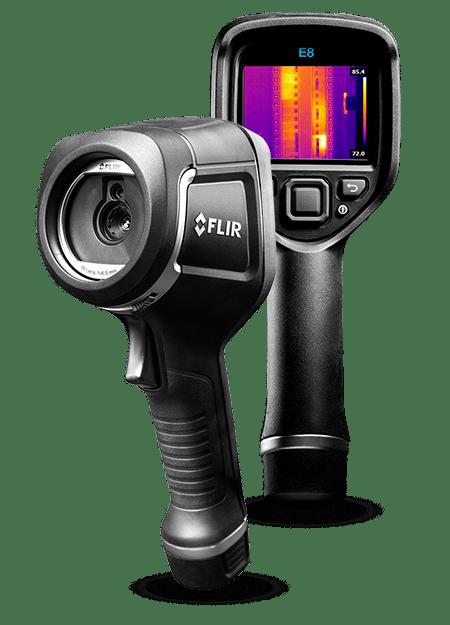 Vodoinstalaterska kamera za termalno snimanje cevi Flir e8